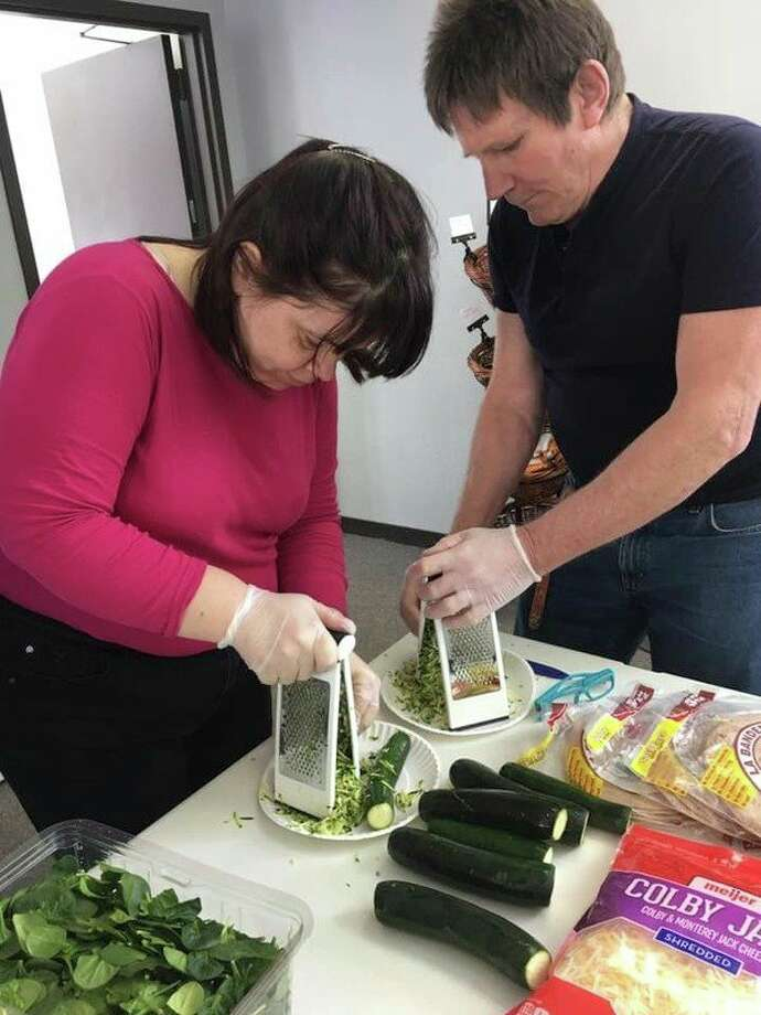 The Manistee Friendship Society hosts cooking classes for its members. The Friendship Society is an extra support system in our community for adults living with various degrees of mental illness. (Photo provided by Manistee Friendship Society)