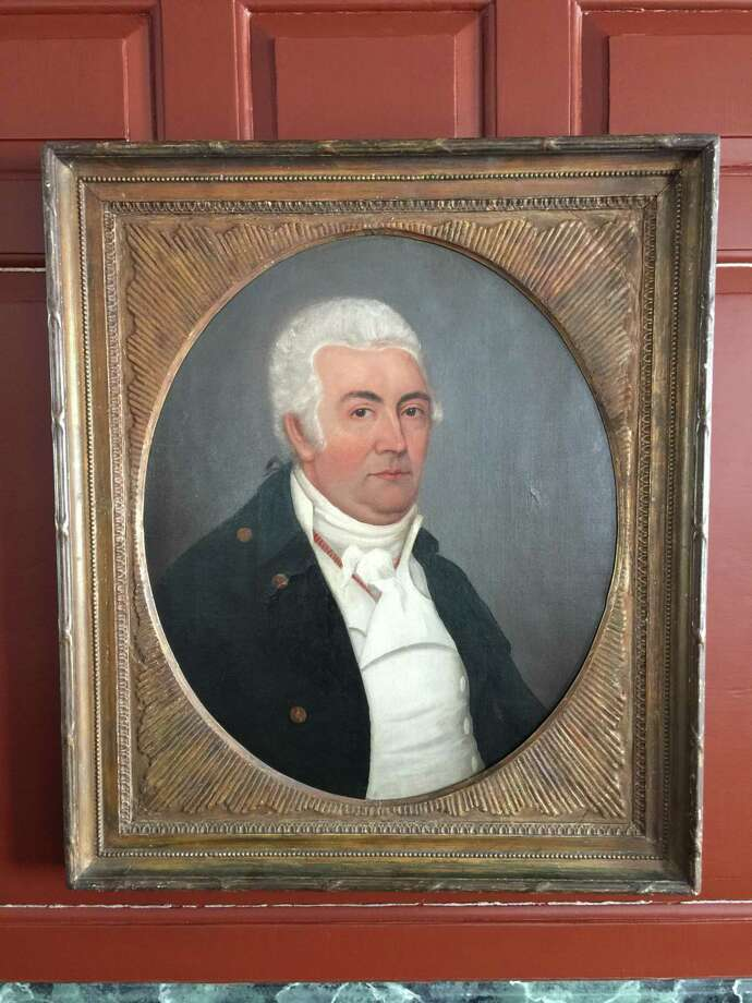 Portrait of a Seth or Nehemiah Grumman, c.1790 Photo: Wilton Historical Society / Contributed Photo