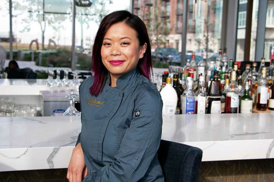 Wholesome Kitchen and Bar executive chef Theyen Hoang designed the restaurant in her own vision. Photo: Savannah Mehrtens/Staff Photo / Savannah Mehrtens/Staff Photo