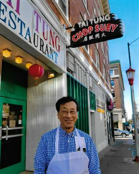 Harry Chan stands outside his third-generation restaurant, Tai Tung. Photo: Courtesy Tai Tung