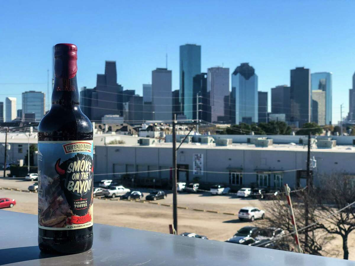 Smoke on the Bayou beer at Buffalo Bayou Brewing Co.