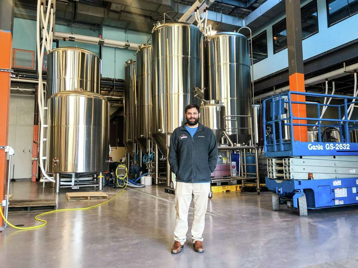 Co-founder Rassul Zarinfar at Buffalo Bayou Brewing Co.