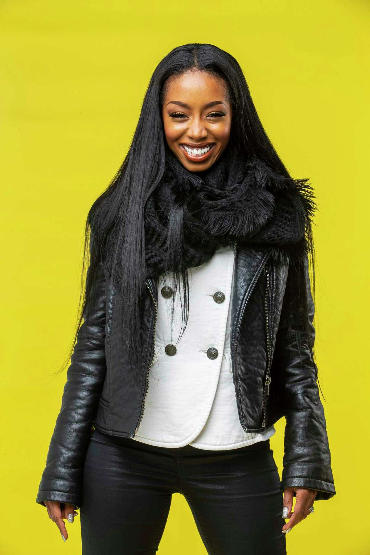 Singer Crystal Tamar, a former Houston Texans cheerleading captain who was also a member of the T-Pain produced group Sophia Fresh, recently release her eponymous solo album. The graduate of Prairie View A&M was photographed in the Houston Chronicle studio in Houston, Wednesday, Dec. 4, 2019.