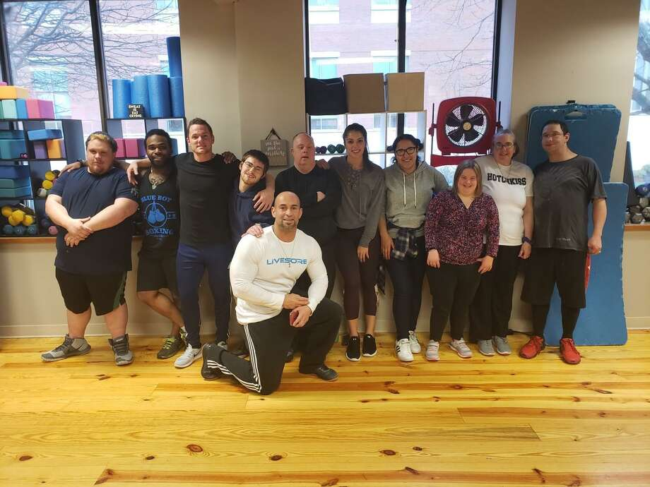 The Department of Developmental Services (DDS) Special Olympics Torrington Fit Club recently announced the new and improved collaboration with Energy Fitness. Photo: Energy Fitness / Contributed Photo