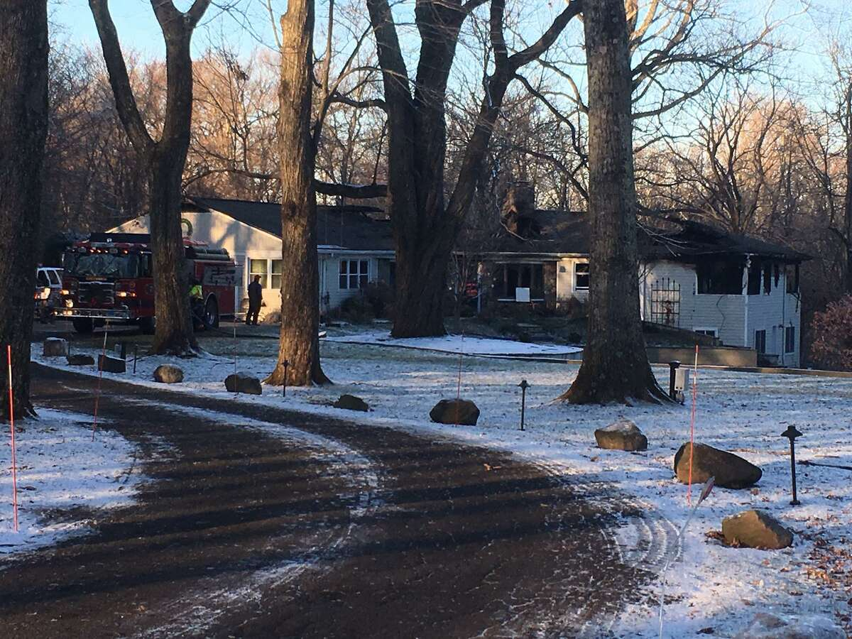 A fire caused major damage to a home on Whitney Drive.