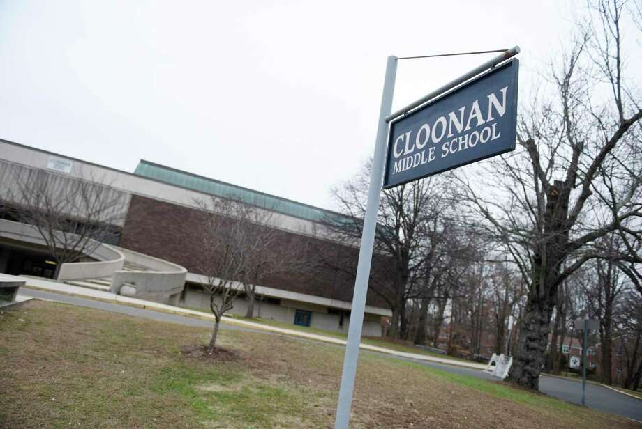 Cloonan Middle School in Stamford, Conn., photographed on Monday, Dec. 16, 2019. Photo: Tyler Sizemore / Hearst Connecticut Media / Greenwich Time