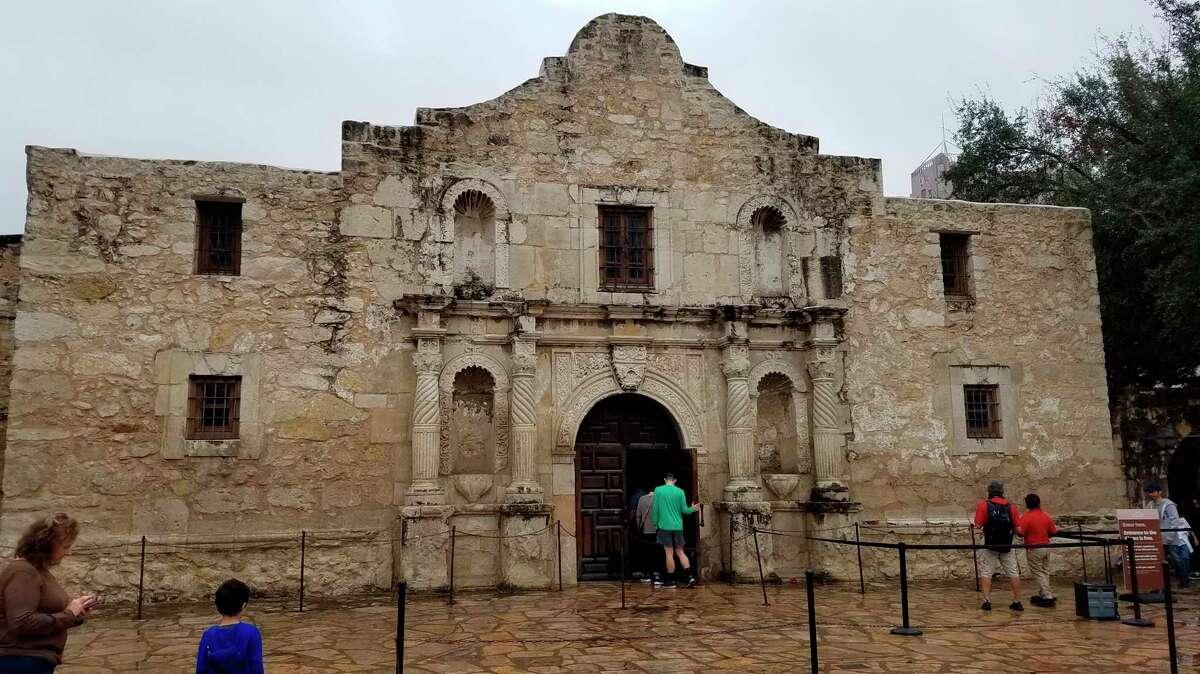 The Alamo in San Antonio. (AP Photo/Ken Miller)