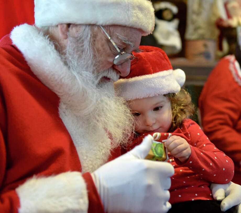 Yes, Virginia, there is a Santa Claus, because it never hurts to partake in a little fantasy, just as it's empowering  to discover the truth. Photo: Hearst Connecticut Media File Photo / The News-Times