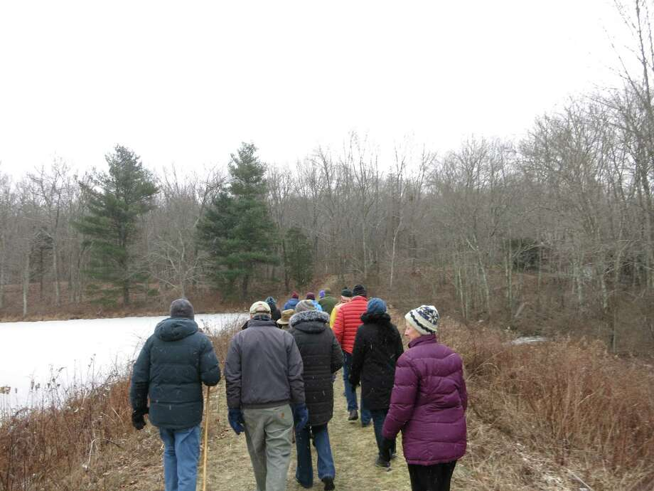 Flanders Nature Center is offering a series of hikes, starting Feb. 29 in Woodbury. Photo: Flanders Nature Center / Contributed Photo /