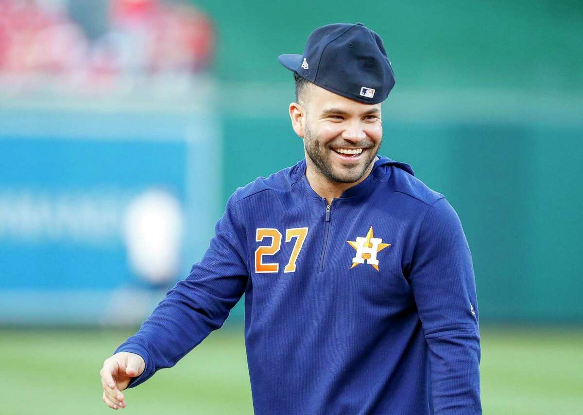 Jose Altuve, during the World Series, recently went an MLBPA group to Colombia.