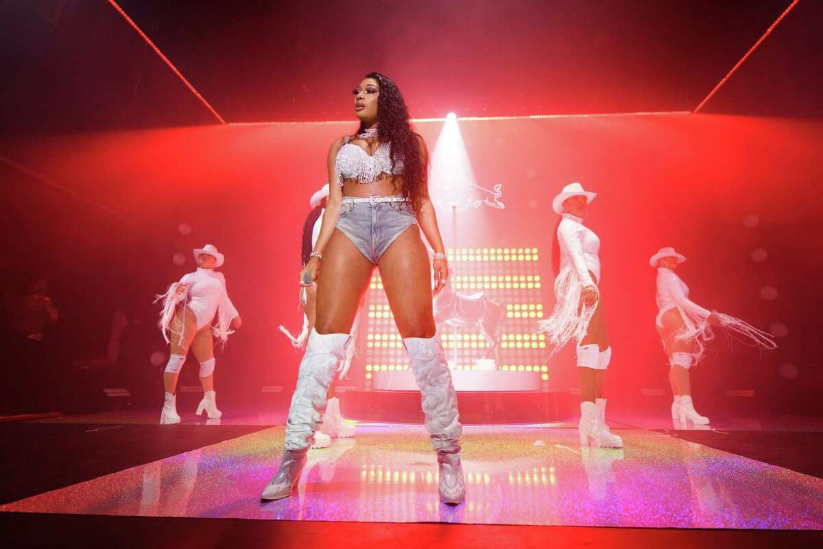 Megan Thee Stallion will take the Coachella 2020 stage Friday, April 10 and 17. >> Keep clicking through to see photos of celebs who were spotted at Coachella 2019.