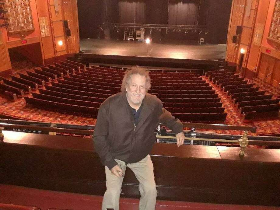 Joe DiBlasi, owner of Litchfield Piano Works, has served as the Warner Theatre's piano tuner for 20 years. Photo: Emily M. Olson / Hearst Connecticut Media