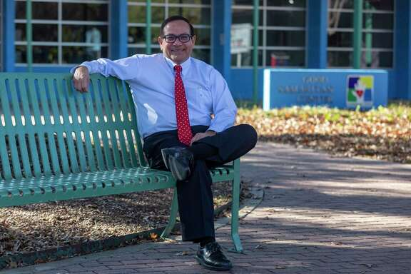 CEO Simon Salas is working to improve and expand services at Good Samaritan Community Services in an effort to reduce the poverty and lack of opportunity that's been endemic in one of San Antonio's poorest neighborhoods.