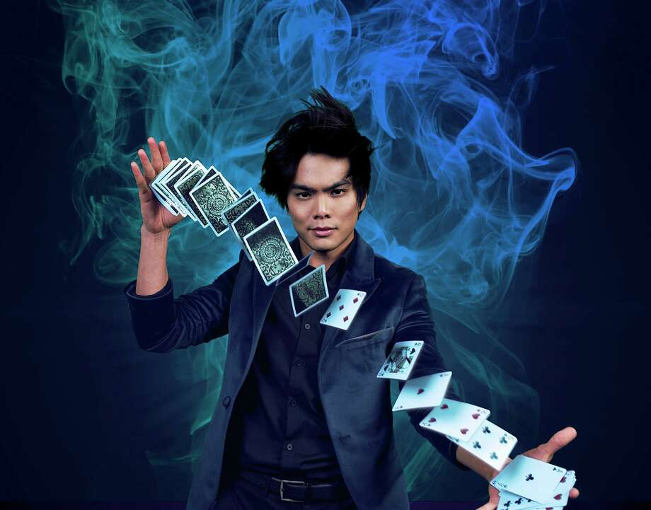 Shin Lim performs at the Grand Theater at Foxwoods Resort Casino, Jan. 10. Photo: Yevz Photography / Contributed Photo