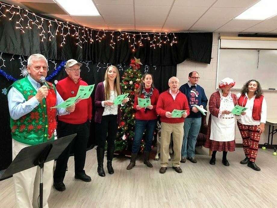 Greendale Seniors enjoy Christmas festivities. (Photo provided/Senior Services)