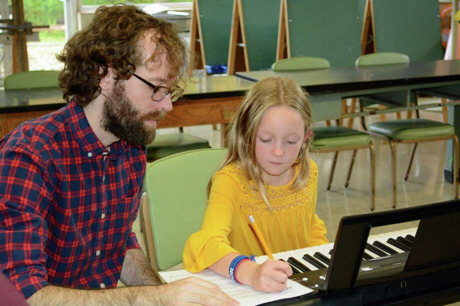 DAC music instructor Dan Saulpaugh is teaching music composition classes for grades 3 to 12 and beginning jazz band classes for grades 5-9 on Saturdays, beginning on Jan. 11. Photo: Contributed /