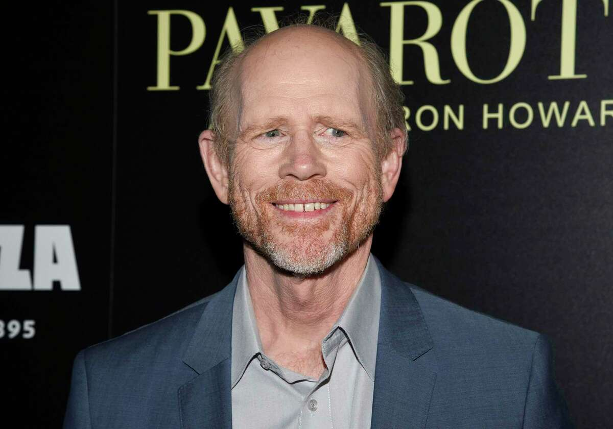 """Director Ron Howard attends a special screening of """"Pavarotti"""" at the iPic Theater on Tuesday, May 28, 2019, in New York."""