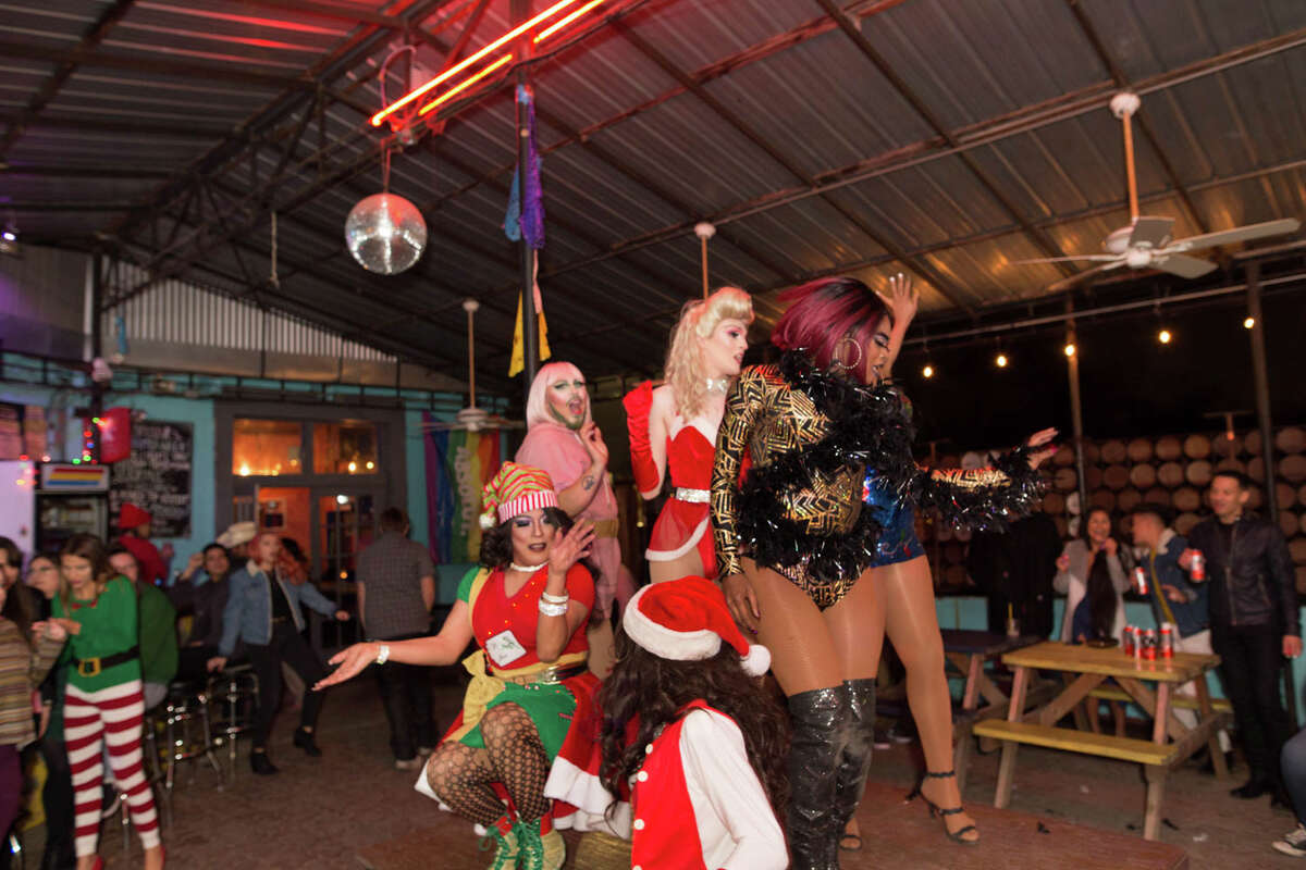 San Antonians attended the Ugly Sweater and Drag Queen Party at La Botanica on Friday, December 20, 2019.