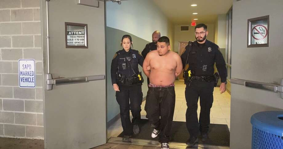 Jorge Lopez, 23, has been arrested in connection to the death of a San Antonio ISD police officer who was killed off duty while working security at a Southeast Side restaurant Saturday morning, Dec. 21, 2019. San Antonio police say Lopez is being charged with capital murder. Photo: Sara Cline