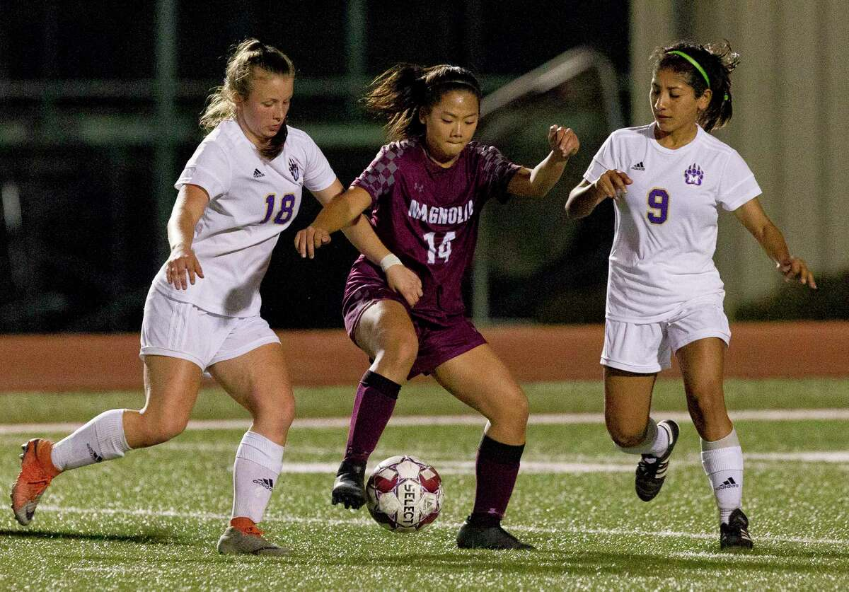 Magnolia midfielder Tate Perugini (14) is expected to contribute once again.