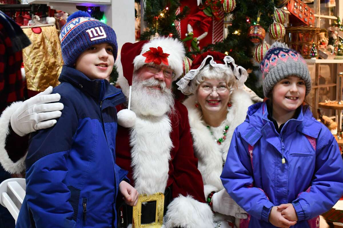 Santa stopped by Hollandia Nursery in Bethel on December 21, 2019. Were you SEEN meeting with Santa and enjoying the holiday decorations?