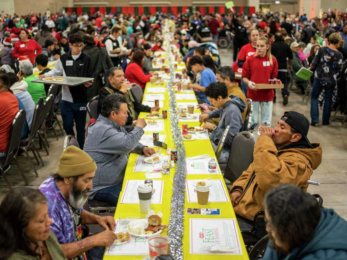 H-E-B has canceled its annual Feast of Sharing dinner that serves thousands during the holiday season due to COVID-19 concerns, the grocery store giant announced in a news release earlier this month.