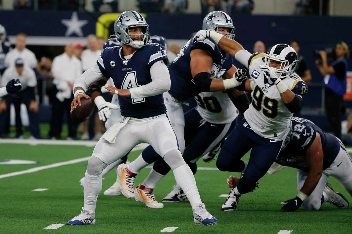 Dallas QB Dak Prescott is dealing with nagging injuries ranging from his shoulder to his finger, but his resiliency impresses coach Jason Garrett.