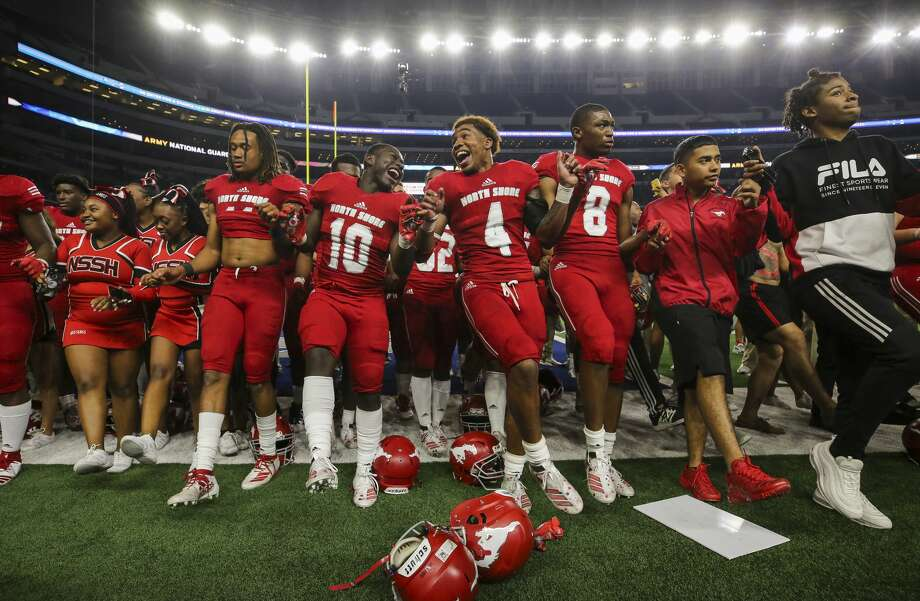 PHOTOS: A look at North Shore's state championship win The North Shore football team celebrates after defeating Duncanville 31-17 in the UIL 6A Division 1 State Championship at AT&T Stadium Saturday, Dec. 21, 2019, in Arlington, Texas. Photo: Godofredo A Vásquez/Staff Photographer
