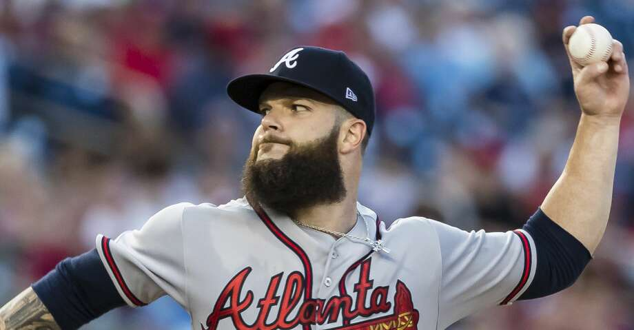 WASHINGTON, DC - JUNE 21: Dallas Keuchel #60 of the Atlanta Braves pitches against the Washington Nationals during the fourth inning at Nationals Park on June 21, 2019 in Washington, DC. (Photo by Scott Taetsch/Getty Images) Photo: Scott Taetsch/Getty Images
