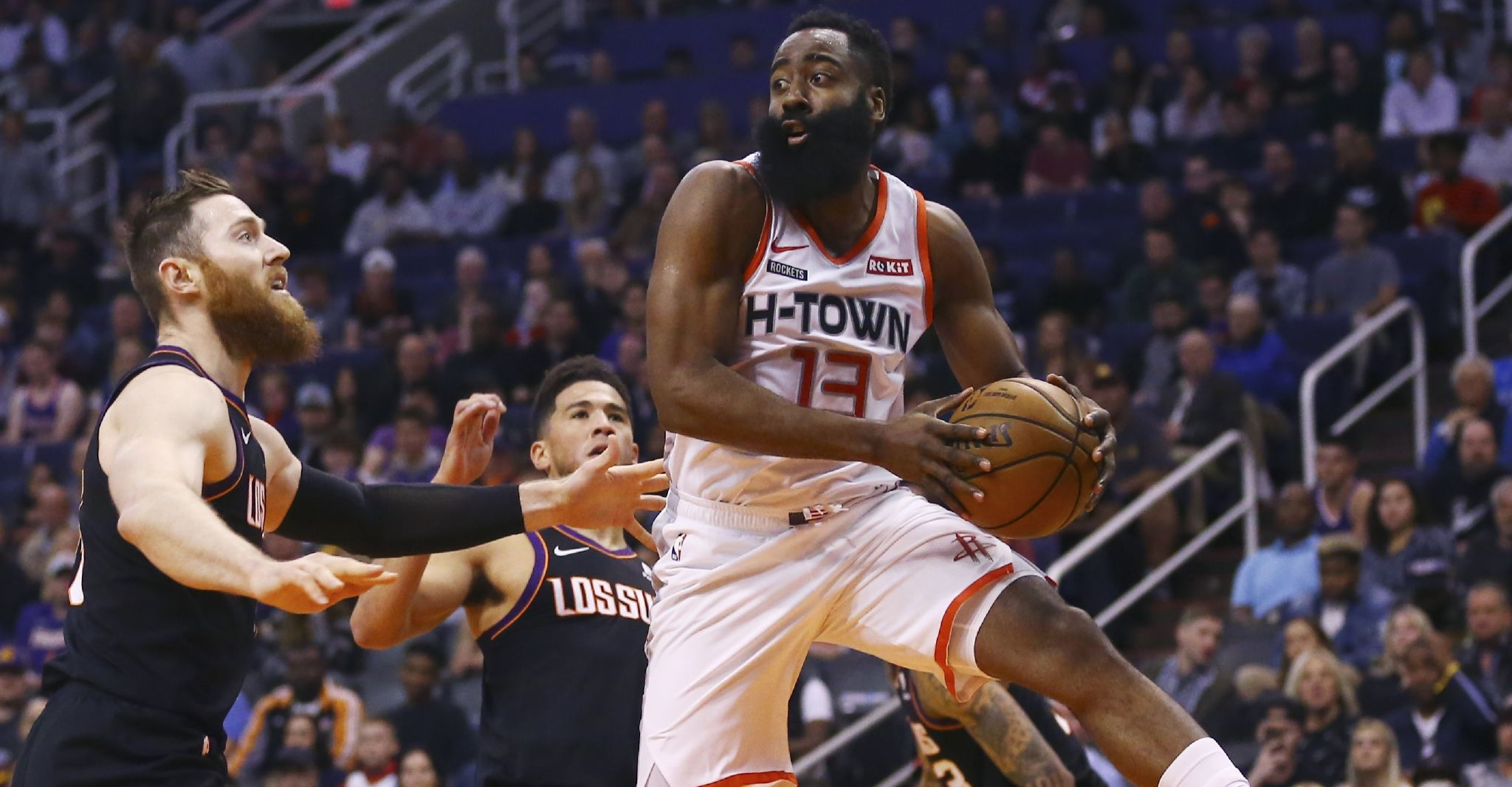 Rockets topple Suns for 3rd straight victory