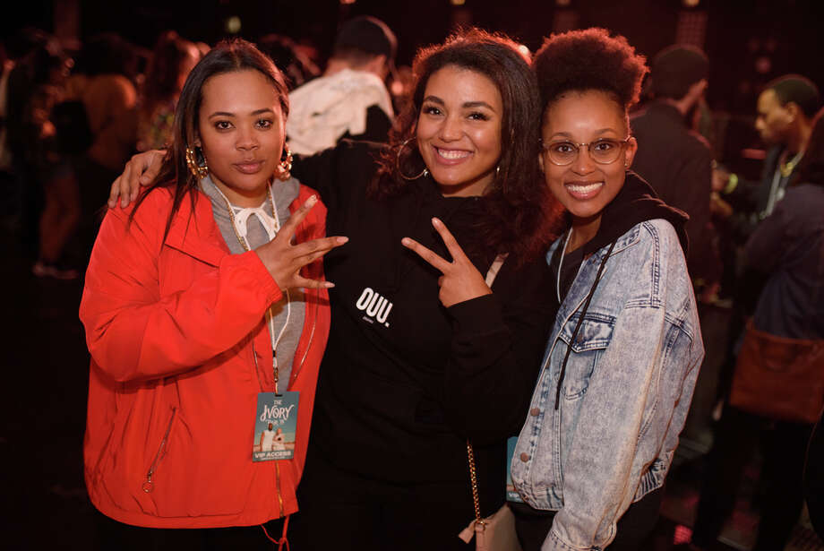 Fans  at Revention Music Center to see Tobe Nwigwe close out his Ivory Tour in Downtown Houston on Sarutday, December 21, 2019 Photo: Jamaal Ellis, Contributor / ? 2019
