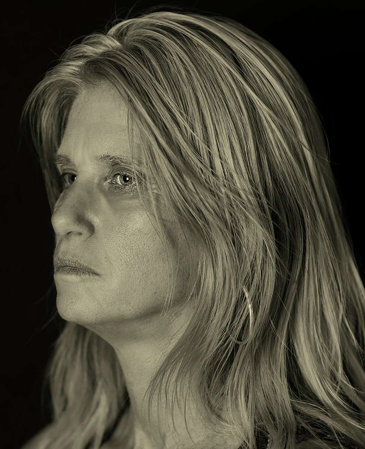 """Katie Pell, who died Saturday, was one of the artists that photographer Ramin Samandari's featured in his """"San Antonio Faces of Art"""" portrait series."""