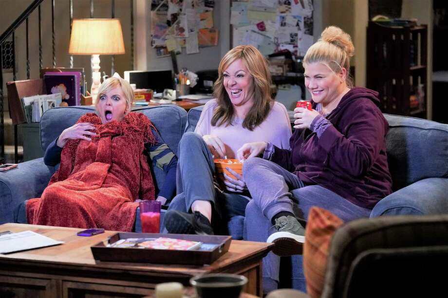 "10. ""Mom"" (CBS). After a half-dozen seasons, the sitcom about a gaggle of female friends bound together by sobriety hit its stride in 2019 and was never funnier. The show essentially shed all extraneous weight (children, spouses and exes) with the exception of William Fichtner as husband to Bonnie (Allison Janney) and foil to her shenanigans, and homed in on the series' gold: its sextet of gal-pals, all distinctively different, who manage to find fun and purpose without the help of booze and other drugs. Adding hilarity is a relative newcomer to the fold — crazy scene-stealer Kristen Johnston as former prison inmate Tammy, whose comic timing is absolute perfection. Find every season, including the first half of the seventh, on CBS All Access. Photo: Monty Brinton /CBS / ©2018 CBS Broadcasting, Inc. All Rights Reserved"