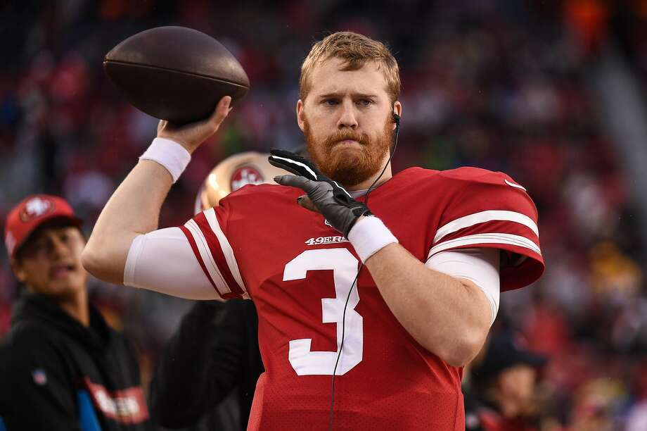 San Francisco 49ers Quarterback C.J. Beathard (3) during the NFL game between the Seattle Seahawks and the San Francisco 49ers on December 16, 2018 at Levi's Stadium in Santa Clara, CA. (Photo by Cody Glenn/Icon Sportswire via Getty Images) Photo: Icon Sportswire / Icon Sportswire Via Getty Images