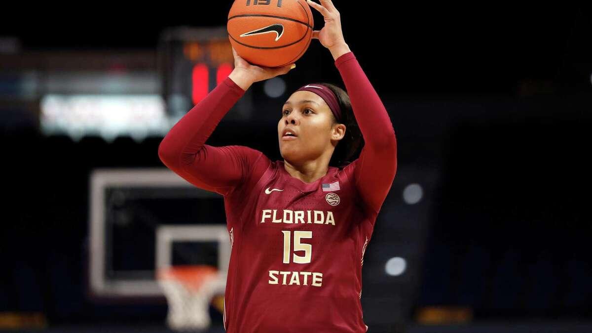 Florida State forward Kiah Gillespie during a Nov. 9 game against LSU.