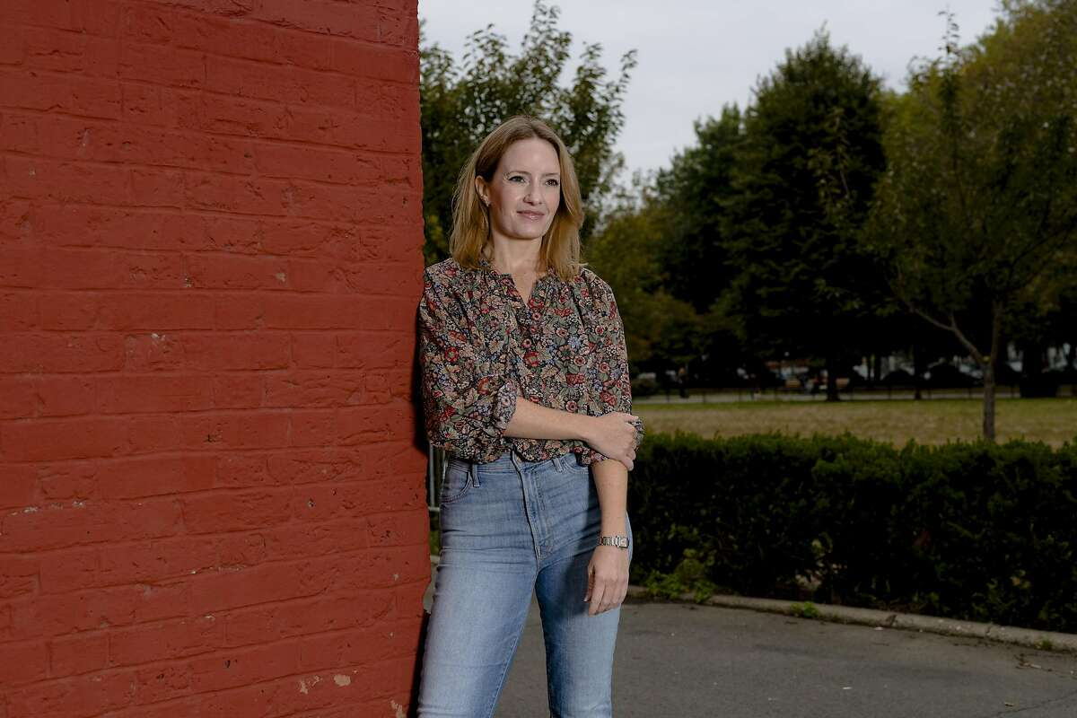 Molly Dunn, a freelance brand strategist, who said her 20-year career had been marked by repeated episodes of harassment, discrimination and retaliation, in New York, Oct. 12, 2019. Campaigns promoting female empowerment are all the rage - but women in advertising say they still have to navigate