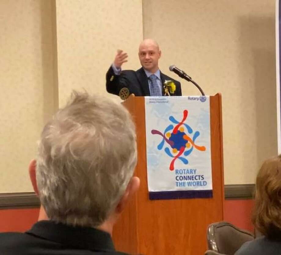 Bill Parry III is this year's recipient of Rotary District 7980's Norman K. Parcells Award. Photo: Contributed
