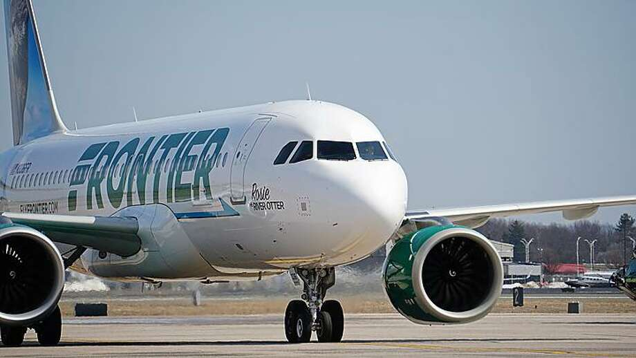 Frontier Airlines has begun a new seasonal flight to Miami running three days a week until April. Photo: Connecticut Airport Authority / Contributed Photo