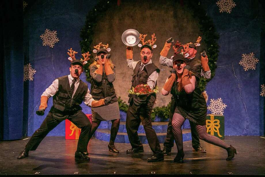 """Wreck the Halls: A Musical Slay Ride"" runs through Dec. 28 at TheatreWorks New Milford. Photo: TheatreWorks New Milford / Contributed Photo /"