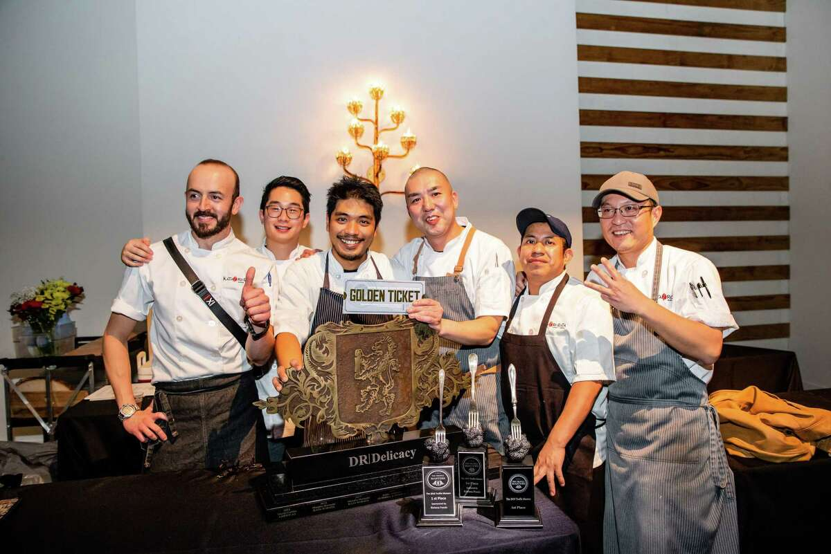 The staff of Kata Robata, which won the 2019 Truffle Masters competition.