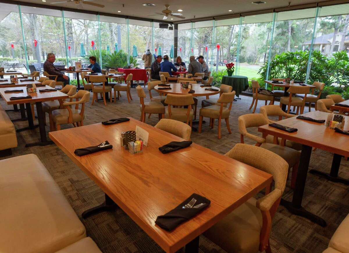 Café on the Green at the Walden Country Club on Lake Conroe, Friday, Dec. 19, 2019, in Montgomery.