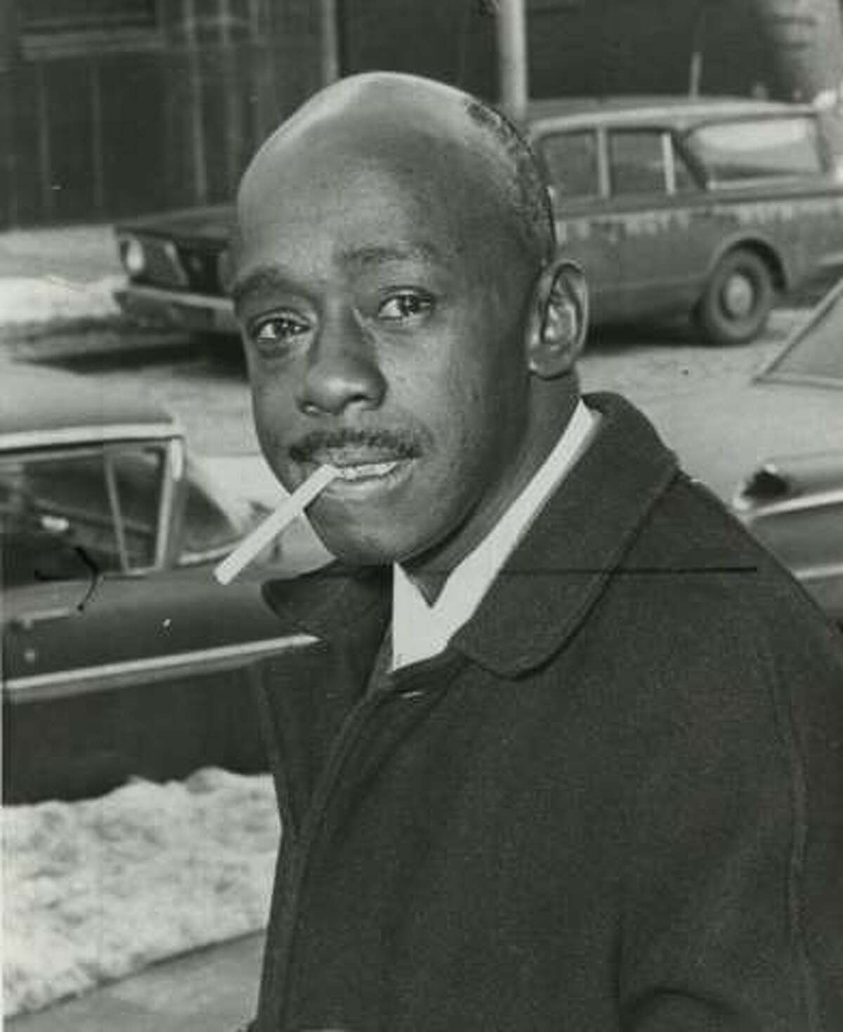 Leon Van Dyke in Albany in the 1960s, when he was a leader of the militant organization known as The Brothers.