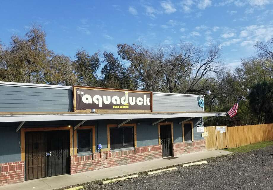 Christmas is coming early at The Aquaduck Beer Garden, where all drinks are $2 Monday night. Photo: Courtesy, The Aquaduck Beer Garden