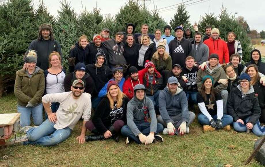 Clients of Madison County Assessment and Treatment Court — also known as Drug Court — recently helped unload hundreds of trees for the Edwardsville Lions Club Christmas tree lot in Edwardsville. Judge Kyle Napp ad , but she and SWAP (Sheriff's Work Alternative Program) supervisor Lt. Pete Moore are creating a plan to expand such efforts yearround.