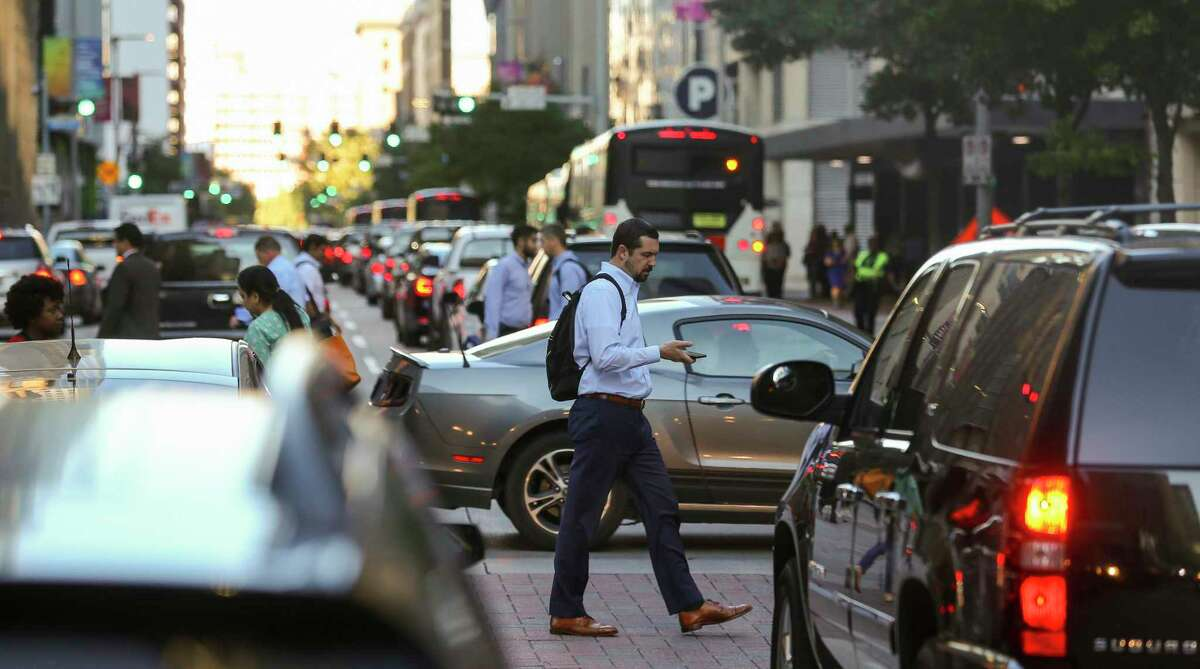 Downtown Houston is busy during the day, but at night, some say it gets fairly quiet. Well-paid young professionals seeking a more walkable lifestyle with better transportation options are flocking to cities on the coasts.