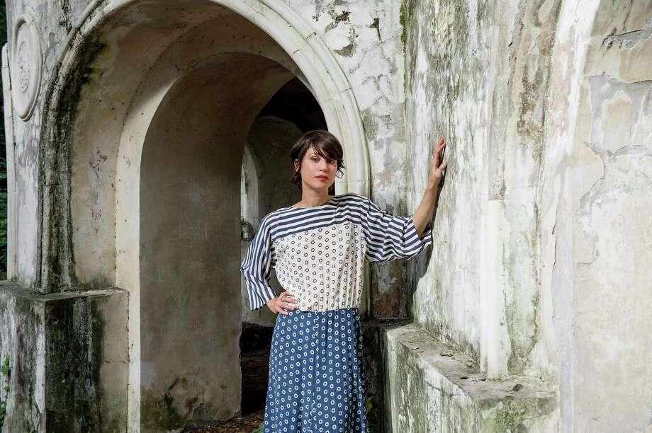 "Veronica Raimo, author of ""The Girl at the Door"" Photo: STEPHANIE GENGOTTI, STR / NYT / NYTNS"