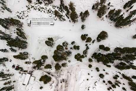 White Wolf Mountain, Wednesday, Dec. 11, 2019, in Alpine Meadows, Calif.