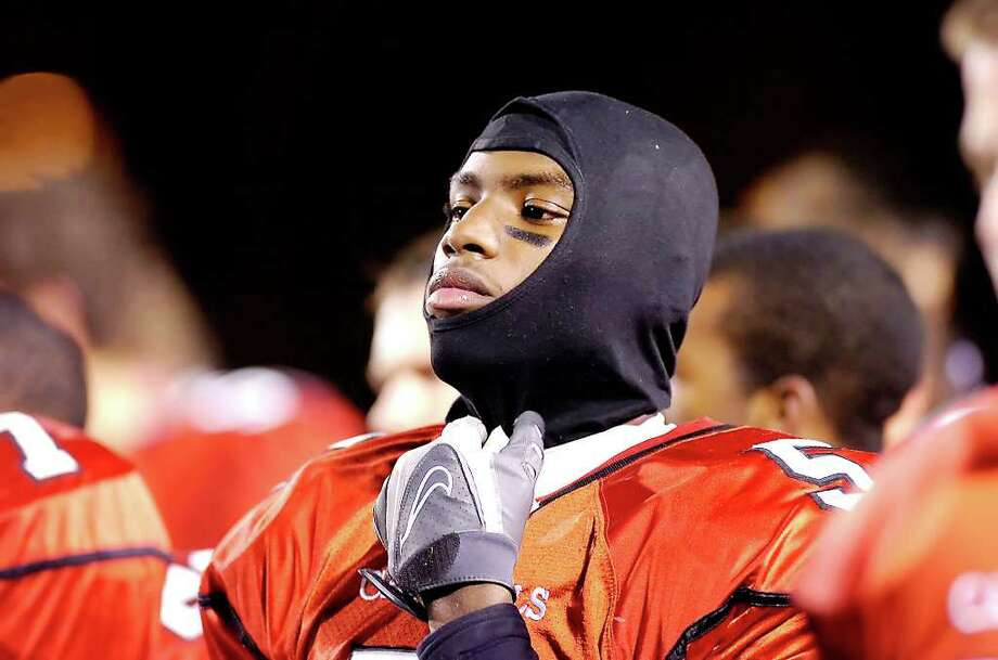 Former Greenwich High School football star Trevor Lattimore, seen here during a game in 2007 at Southern Connecticut State University in New Haven, pleaded guilty Wednesday in connection with an April robbery behind Western Middle School. He will spend a year in prison. Photo: File Photo / Greenwich Time File Photo