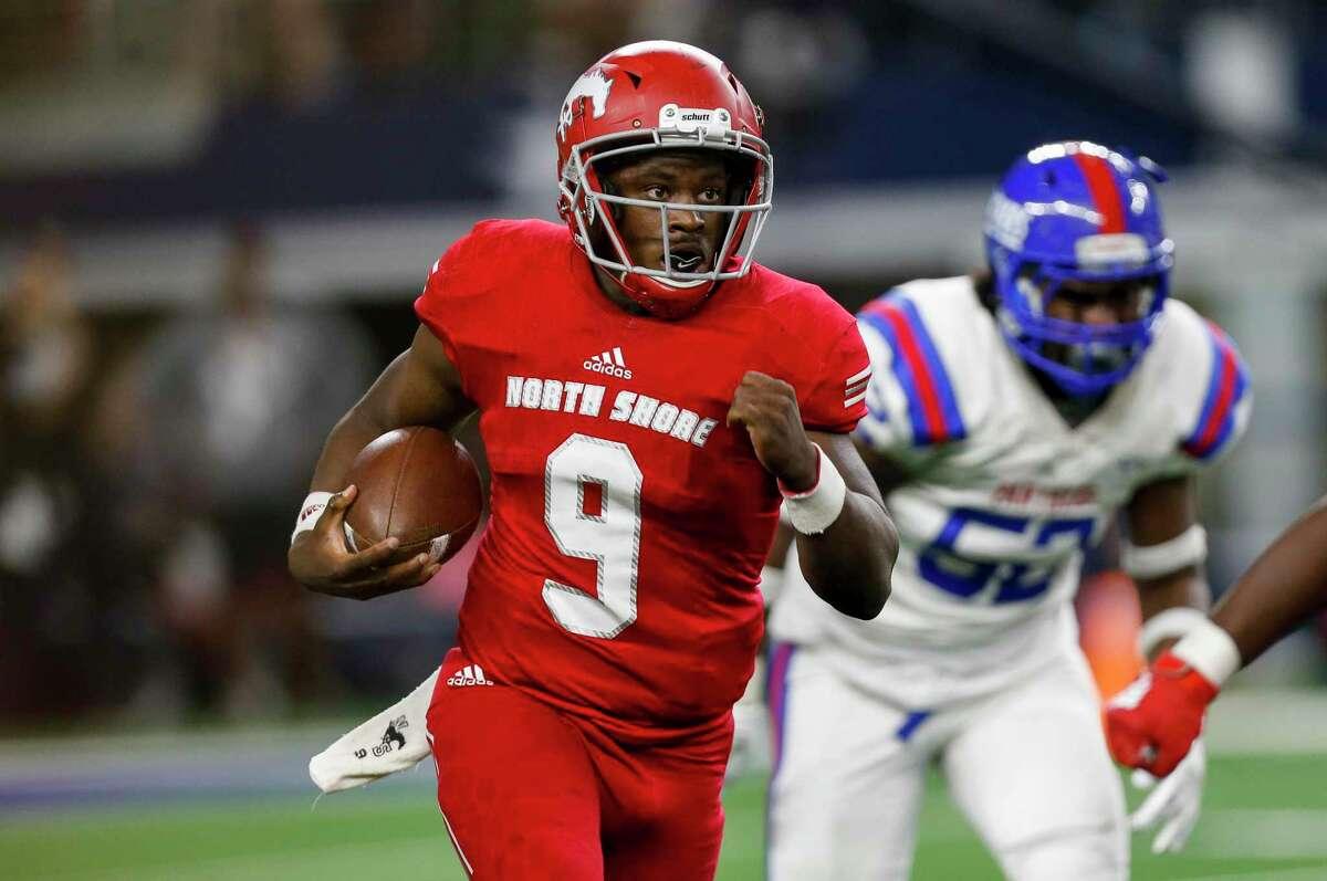 North Shore quarterback Dematrius Davis will get to square off against Shadow Creek's Kyron Drones this season.