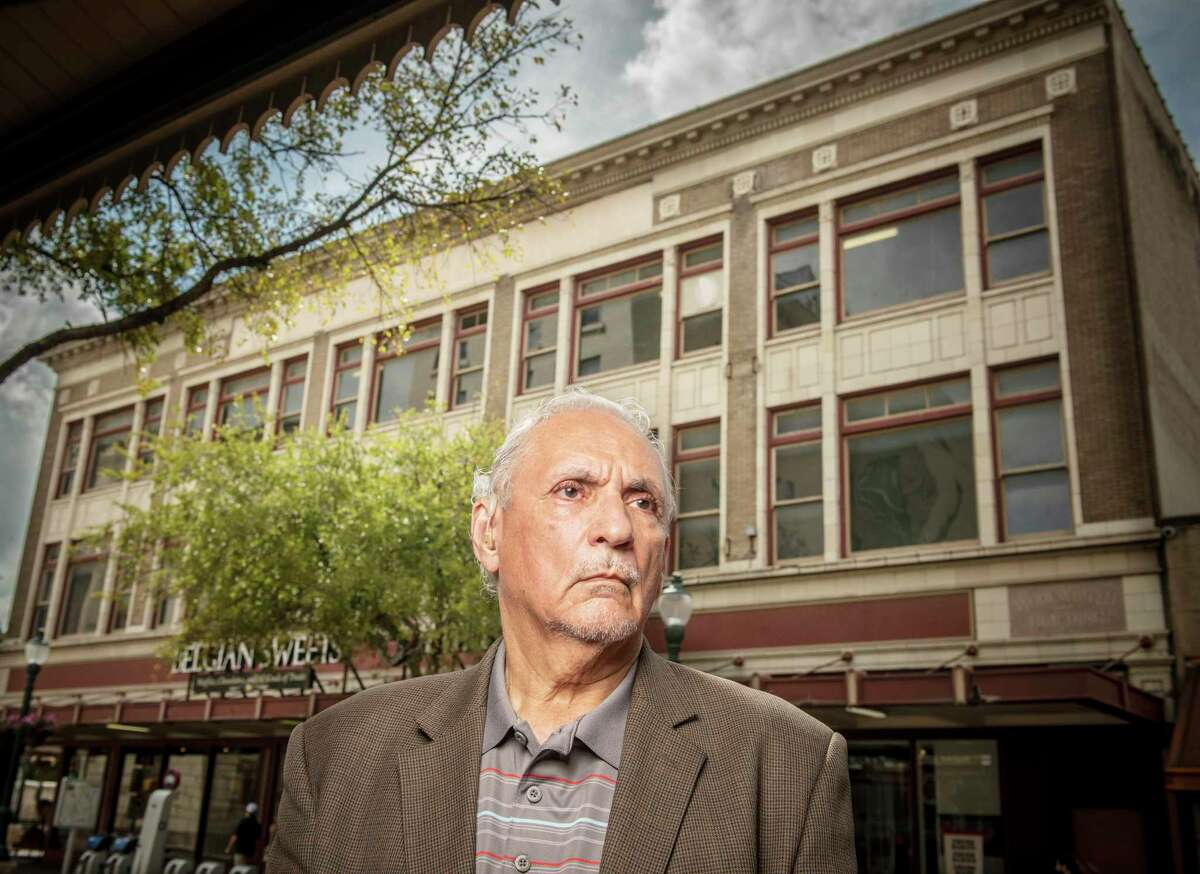 Mario Salas, former city councilman and Bexar County Appointee to the Tricentennial Commission used to spend time at the Woolworth Building after its lunch counter became one of seven to peacefully desegregate in San Antonio in 1960. The building could be reused as part of a new Alamo museum, or possibly demolished.